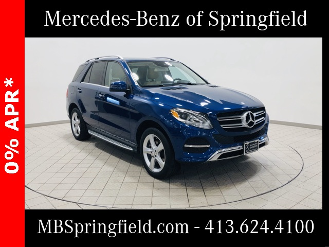Certified Pre-Owned 2017 Mercedes-Benz GLE 350 AWD