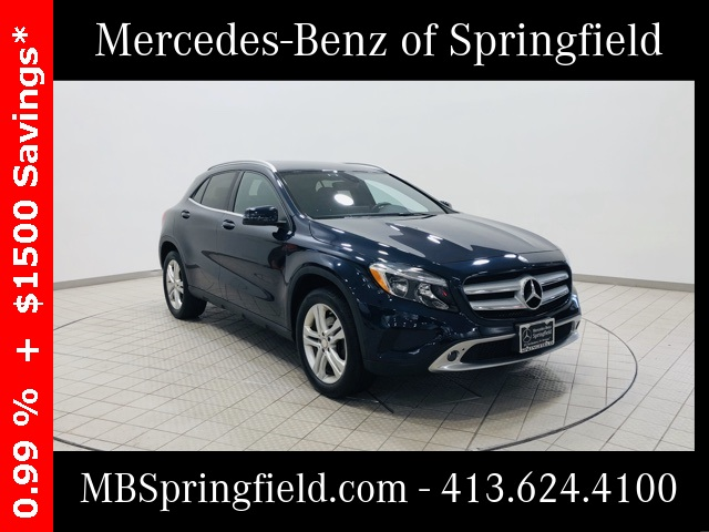 Certified Pre-Owned 2017 Mercedes-Benz GLA 250 AWD