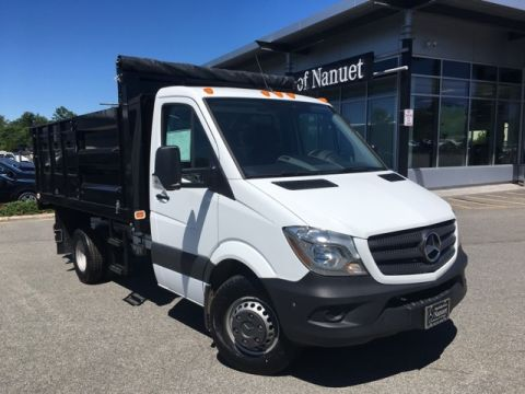New 2017 Mercedes-Benz Sprinter 3500 Cab Chassis 144 WB