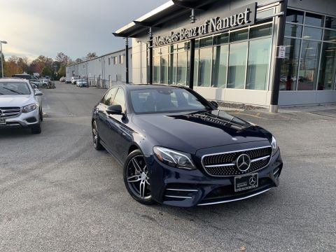 Certified Pre-Owned 2017 Mercedes-Benz E-Class E 43 AMG®